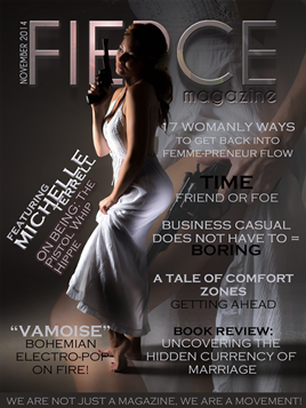 michelle terrell fierce magazine feature