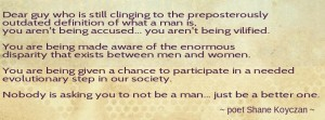 be a better man
