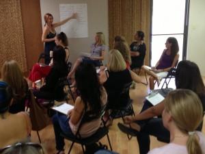 womens group teaching